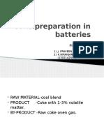 Coke Preparation in Batteries