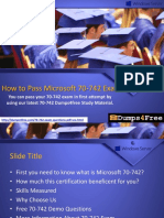 Microsoft 70-742 Dumps - Tips to Pass 70-742 Exam in 1st Attempt