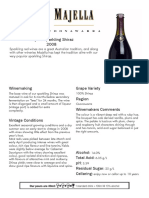 231 2008 Sparkling Shiraz Tasting Notes