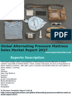 Global Alternating Pressure Mattress Sales Market Report 2017