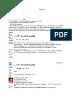 Excel Plantafel