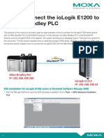 Tech Note---Connecting IoLogik E1200 to Allen-Bradley PLC
