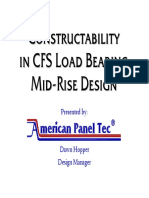 Constructability in CFS Load Bearing Mid-Rise Design-handout