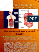 Diagnosticul Imagistic Al Bolilor Tubului Digestiv