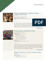 Eventos 01-01-2017 Turismo Asturias