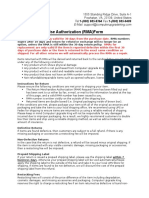 RMA Form - Amazon Purchases (Word 2003)