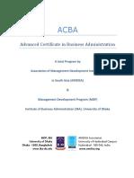 ACBA Brochure