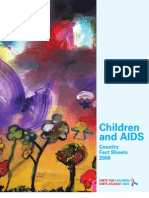 Children and AIDS Country Fact Sheets 2008