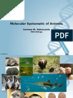 Molecular Systematic of Animals