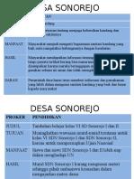 Fix Desa Sonorejo