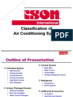 Types of Airconditioning (Acson)