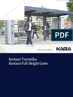 Kentaur Turnstiles Kentaur Full Height Gates (1)