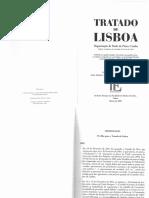 Tratado de Lisboa Quadro Comparativo