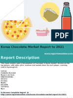 Korea Chocolate Market Report to 2021