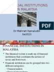 Financial institutions in Malaysia