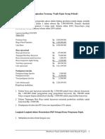 Rekonsiliasi Fiskal WP OP