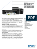 Epson L382 A4 Colour All-In-One Multi-function Ink Tank System Printer