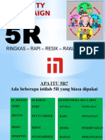 Materi 5R - Safety Campaign
