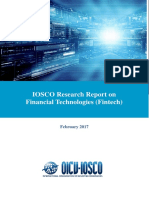 IOSCO Research Report on Financial Technologies