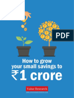 Grow Your Small Savings to 1 Crore