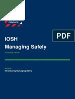 Bsc Iosh Module 1 v3.0