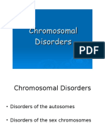 Disorder of Autosome and Sex Chromosome