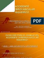 ACV Guías AHA 2005