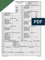ISA Format Datasheets