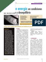Medida de Energia en Condiciones de Distorsion y Deseq