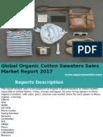 Global Organic Cotton Sweaters Sales Market Report 2017
