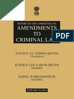 121798698 Justice Verma Committee Report