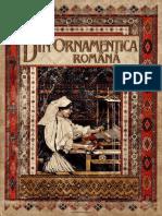 Dimitrie Comsa - Din Ornametica Romana - Album Artistic Reprezentand 284 Broderii Si Tesaturi Dupa Originalele Taranesti Partea I