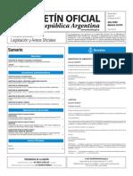 Boletín Oficial de la República Argentina, Número 33.573. 23 de febrero de 2017