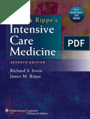 Irwin Rippe S Intensive Care Medicine 7th Ed Pdf Tahir99 Vrg Pdf Food And Drug Administration Medical School