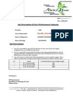 Offer Letter Jagdeep Bedi Uttarakhand