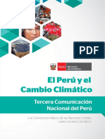 Tercera Comunicación Nacional Del Perú a La CMNUCC