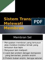 Sistem Transport Melewati Membran