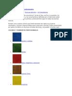 Colores y Pigmentos Profesionales