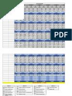 Tabela Cronograma de Estudo Prof.ª Daniela Menezes