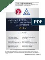 AACEACE COMPREHENSIVE DIABETES MANAGEMENT ALGORITHM 2015