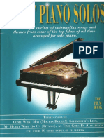 Great Piano Solos the Film Book Cover