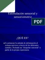Estimulacion Sensorial y Sensoriomotriz