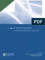 Tutor Training Manual