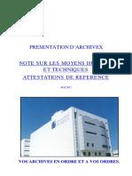Presentation Archivex