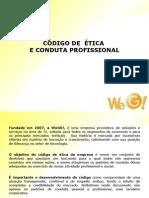 Apresentação Código de Ética e conduta Profissional