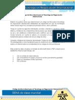 Evidencia 6 ACT 12 Código de Ética Laboral