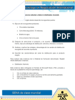 Evidencia 7 ACT 12 Exercise Selection Criteria in Distribution Channels