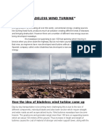 BLADELESS WIND TURBINE.docx