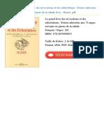 Le Grand Livre Des Invocations Id24345