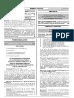 Ley que modifica la Ley 29944 Ley de Reforma Magisterial y establece disposiciones para el pago de remuneraciones de docentes de Institutos y Escuelas de Educación Superior